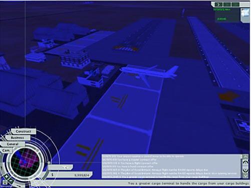 3 》是由 InterActive Vision 公司制作的一款经营航空公司的策略游戏。到现在为止该系列已经发展到了第三代,因此我们有理由相信《机场大亨 3 》的设计者能够为我们带来一道丰盛的精神大餐。然而,令我们失望的是,该系列前两部游戏中所存在的问题依然没有得到解决。 对于建设类游戏来说,机场建设是一个非常有意思的题材,它与那些以野生动物园,主题公园为题材的游戏有很大的不同。与其它大多数模拟经营游戏类似,在《机场大亨 3 》里你一开始就拥有一大块土地和一定数量的资金,建好跑道、集散中心以及其他辅助设施