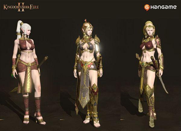 炽焰帝国2性感美女魔剑士攻击画面赏阅
