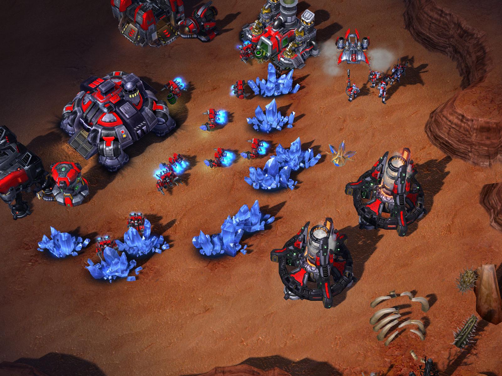 星际争霸2人族机械化兵种组合