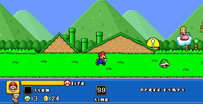 超级玛丽小游戏大全含变态版