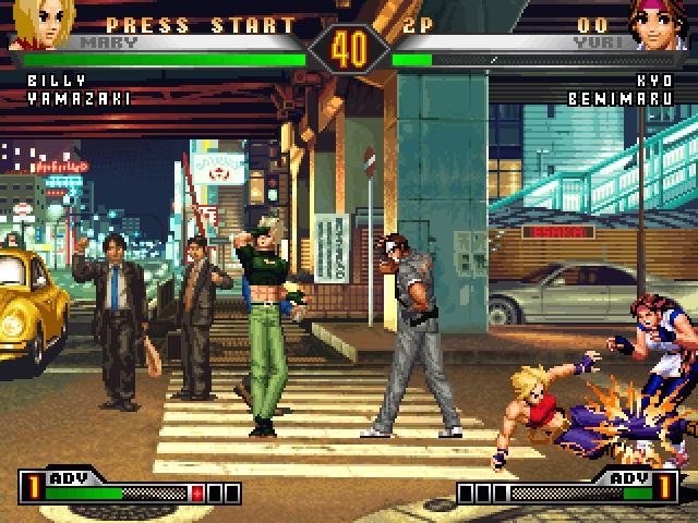 拳皇98终极对决 中文硬盘版
