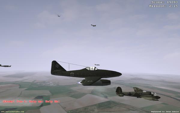 空中战斗 是一款非常小的游戏只有几十兆(M)。但看起来花面毫不输给某些大型射击类 游戏。游戏主要靠玩家通过模拟战斗机 应战!关键性 能掌握好飞机的速度和高度以免 遭到敌人袭击。总体评价是一看娱乐性较强且逼真的飞行射击游戏。