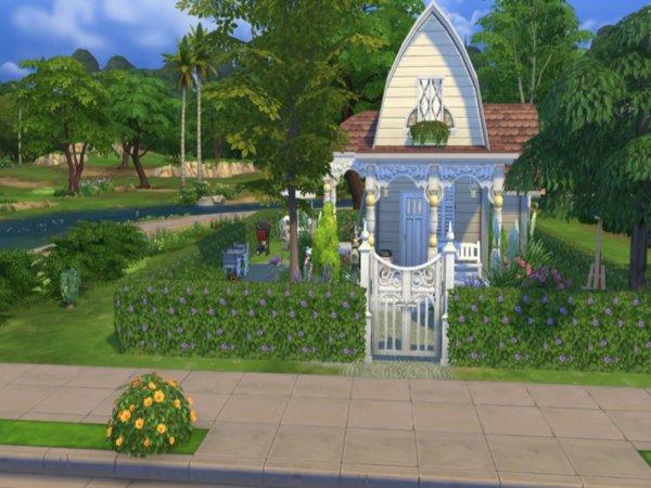 模拟人生4mod精致的花园洋房下载