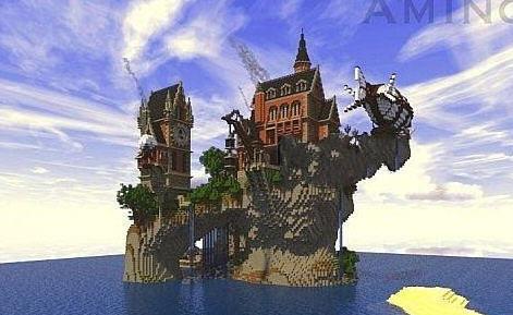 我的世界海岛庄园地图存档