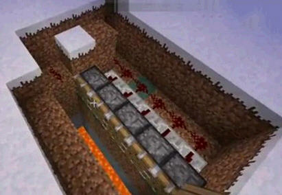 《我的世界》红石陷阱制作方法