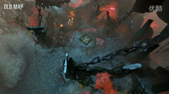 dota2新版本地图对比夜魇天生优势被砍