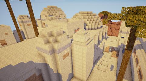 我的世界cs沙漠2pvp地图存档