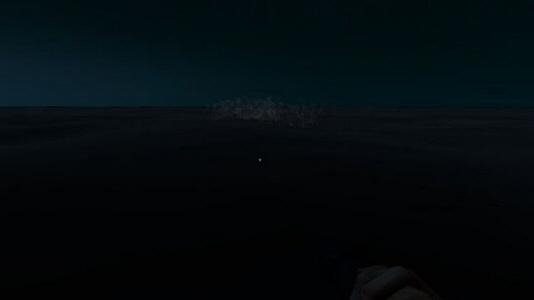 在荒岛求生游戏中,打捞沉船是获取资源的一大方法,这里给大家分享下快速寻找深海沉船方法。 游戏内天黑之后的截图,比较黑,见谅。  必须等天黑了 ,然后站在高的椰子树顶上,四周环绕。 你会发现有海里有气泡。 没错那是沉船  到了气泡处,潜水衣看,宝藏船  第二个气泡处  气泡中间  低头一看,宝藏船 PS:鲸鱼有泡,鲨鱼也有泡,水藻也有,成功率有百分之70吧,值得一试。