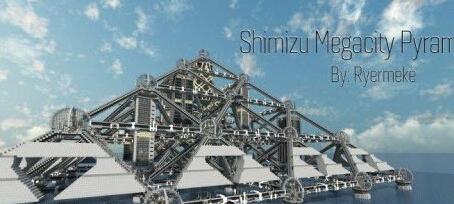 我的世界东京清水金字塔建筑地图存档