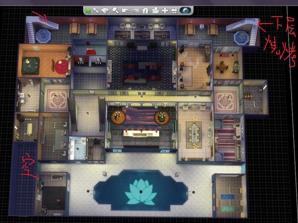 sims免费版豪宅设计图