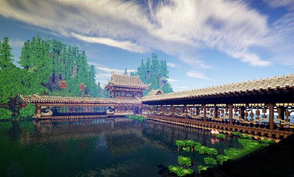 我的世界中国风建筑存档