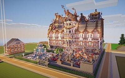 我的世界维多利亚时代的梦幻豪宅地图存档