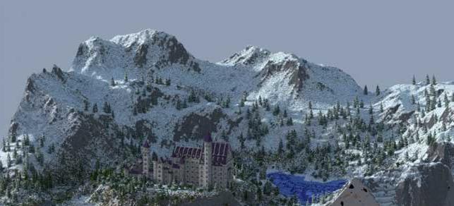 我的世界新天鹅城堡存档下载__飞翔下载