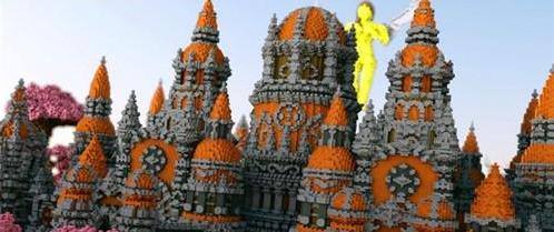 我的世界爱魔幻城堡存档