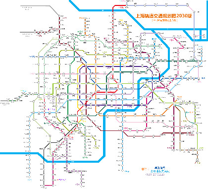 上海地铁地图全图