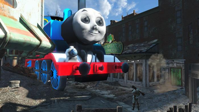 辐射4小火车托马斯mod